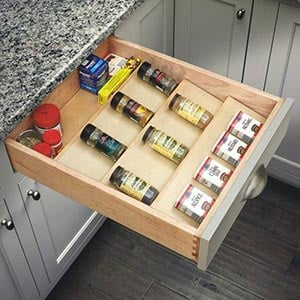 Spice Drawer Inserts Drawer-organizers
