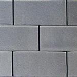 Metallic Gray Glass Backsplash