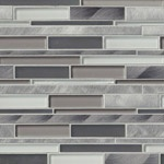 Cityscape Mosaic Blend Backsplash
