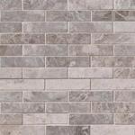 Tundra Gray 4x1 Marble Backsplash