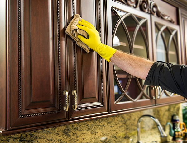 Care for Your Wood Cabinet Doors