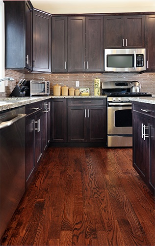 hardwood flooring in the kitchen pros and cons pros and cons of hardwood flooring in the kitchen 9672