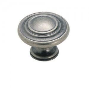 Inspirations Weathered Nickel Ring Knob